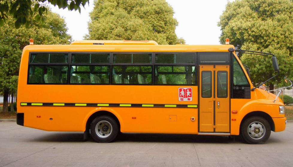 What configuration does a special school bus need